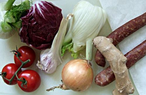 Barfuß-Lasagne: Die Zutaten