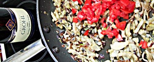 Finetuning mit Tomate und Riesling