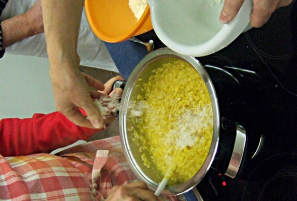 Risotto-Finishing