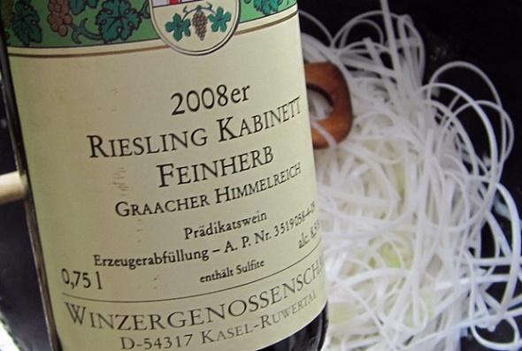 2008er Riesling Kabinett feinherb, Graacher Himmelreich, WG Kasel