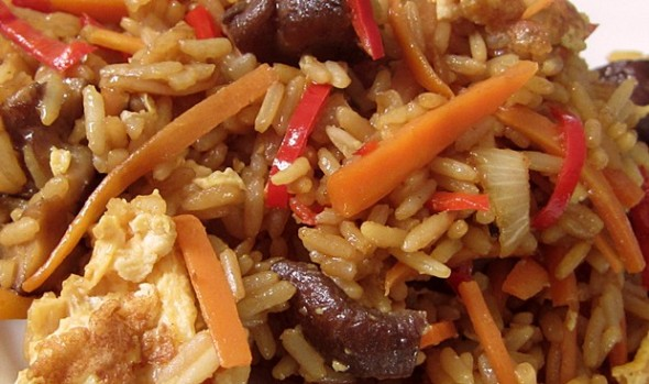 Stir-fried rice, undogmatisch