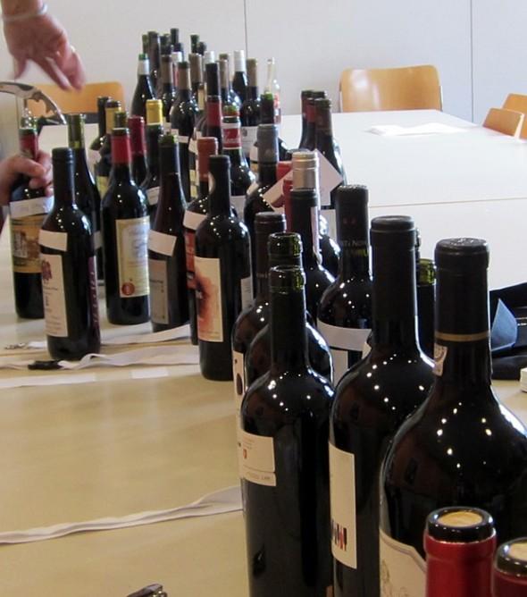 Vorschau auf die Weine des Social Tastings
