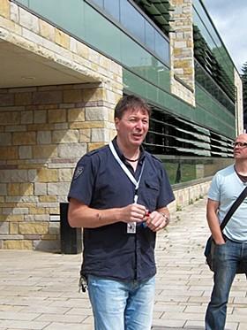 Der Campus-Manager erläutert das Campus-Management