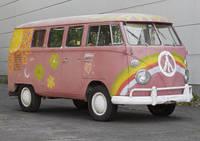 Steht heute im Haus der Geschichte in Bonn: Der Hippie-Bulli