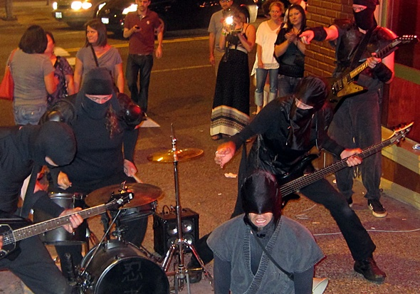 strassenmusikanten in portland